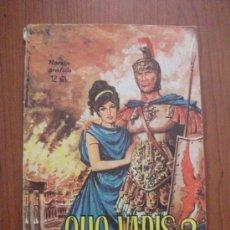 Tebeos: NOVELAS GRAFICAS CLASICAS Nº 22 QUO VADIS? TORAY 1965. Lote 26888183