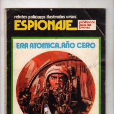 Tebeos: (M-1) ESPIONAJE, RELATOS POLICIACOS ILUSTRADOS URSUS, NUM.3 , EDT TORAY - 1974. Lote 21377017