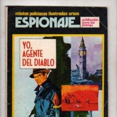 Tebeos: (M-1) ESPIONAJE, RELATOS POLICIACOS ILUSTRADOS URSUS, NUM.2 , EDT TORAY - 1974. Lote 22619691