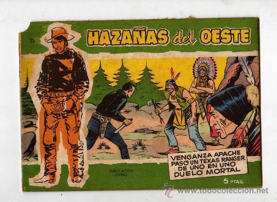 (M-3) HAZAÑAS DEL OESTE , NUMERO 25, EDICIONES TORAY , SEÑALES DE USO (Tebeos y Comics - Toray - Hazañas del Oeste)