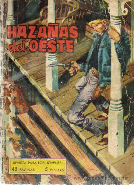 HAZAÑAS DEL OESTE Nº 28 - ED.TORAY 1966 (Tebeos y Comics - Toray - Hazañas del Oeste)