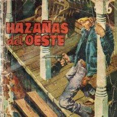 Tebeos: HAZAÑAS DEL OESTE Nº 28 - ED.TORAY 1966. Lote 21976056