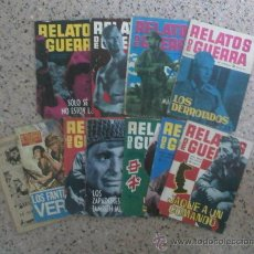 Tebeos: RELATOS DE GUERRA - NOVELA GRAFICA - COMIC - LOTE DE 8 NUMEROS.. Lote 26683688