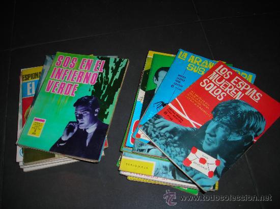 (M-4) ESPIONAJE - EDT TORAY - A 5 EUROS UNIDAD, VER LISTA DE NUMEROS (Tebeos y Comics - Toray - Espionaje)