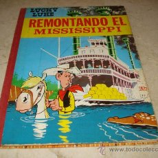 Tebeos: LUCKY LUKE - REMONTANDO EL MISSISSIPPI - TORAY 1968. Lote 22177246