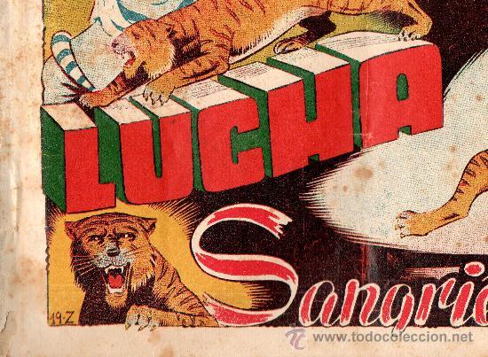 ZARPA DE LEON ALBUM 7 DE TORAY (Tebeos y Comics - Toray - Zarpa de León)