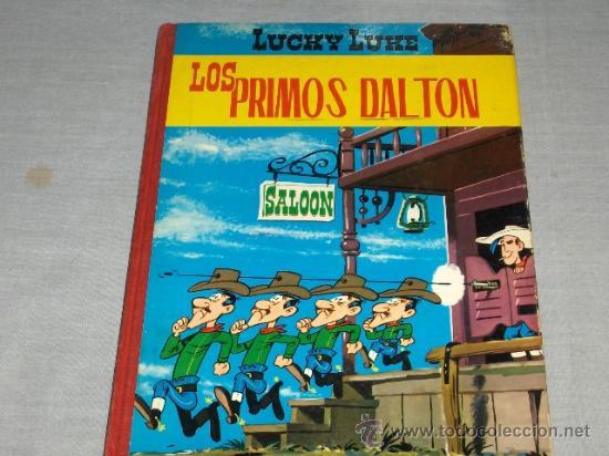 TORAY LUCKY LUKE LOS PRIMOS DALTON. 2ª EDICIÓN 1969. (Tebeos y Comics - Toray - Otros)