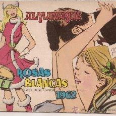 Tebeos - ALMANAQUE ROSAS BLANCA 1962 - 22524291
