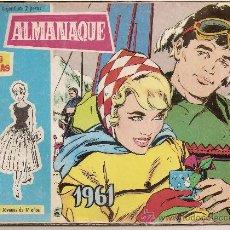 Tebeos: ALMANAQUE DE ROSAS BLANCAS 1961. Lote 22524619