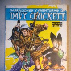 Tebeos: COMIC, DAVY CROCKETT, COLECCION HURACAN, TORAY, 1958. Lote 22786504