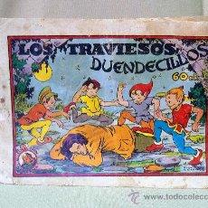 Tebeos: COMIC, ORIGINAL, COLECCION AZUCENA, LOS TRAVIESOS DUENDECILLOS, 60 CTS, TORAY. Lote 22957253