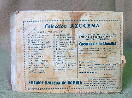 Tebeos: COMIC, ORIGINAL, COLECCION AZUCENA, EL MILAGRO DE LA VIRGEN, 1 PTA, Nº 106, TORAY - Foto 2 - 22957403