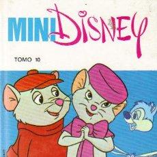 Tebeos: MINI DISNEY Nº 10 - ED.TORAY 1991 (TAPA DURA). Lote 24375662