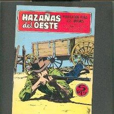 BDs: HAZAÑAS DEL OESTE Nº 155, EDITORIAL TORAY. Lote 23164354
