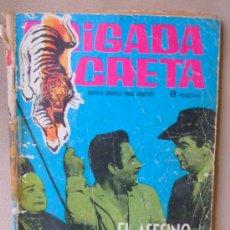 Tebeos: COMIC, BRIGADA SECRETA, EL ASESINO FUE UN TIGRE, TORAY, Nº 19,. Lote 23644454
