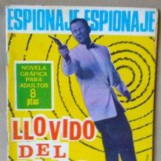 Tebeos: COMIC, NOVELA GRAFICA PARA ADULTOS, ESPIONAJE, LLOVIDO DEL CIELO, TORAY, Nº42,. Lote 23645212