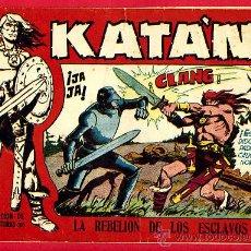 Tebeos: KATAN Nº 2 , LA REBELION DE LOS ESCLAVOS, TORAY , VER FOTO ADICIONAL, ORIGINAL , A . Lote 23575827
