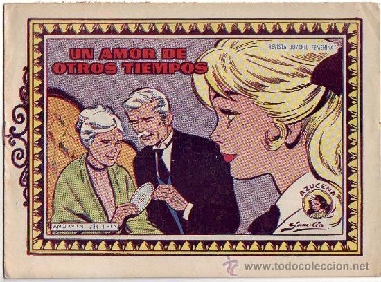 AZUCENA - UN AMOR DE OTROS TIEMPOS - Nº 734 - ED. TORAY (Tebeos y Comics - Toray - Azucena)