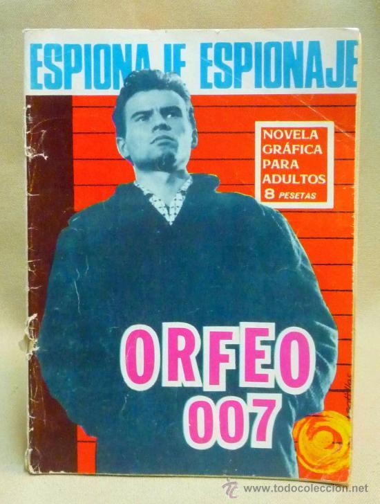COMIC, NOVELA GRAFICA PARA ADULTOS, ESPIONAJE, ORFEO 007, Nº 44, TORAY (Tebeos y Comics - Toray - Espionaje)