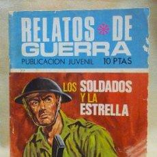 Tebeos: COMIC, PUBLICACION JUVENIL, RELATOS DE GUERRA, Nº 217, LOS SOLDADOS Y LA ESTRELLA, TORAY. Lote 23816418