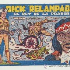 Tebeos: DICK RELÁMPAGO Nº 11. TORAY 1960.. Lote 24055230