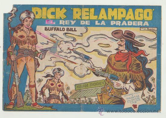 DICK RELÁMPAGO Nº 147. TORAY 1960. (Tebeos y Comics - Toray - Dick Relampago)