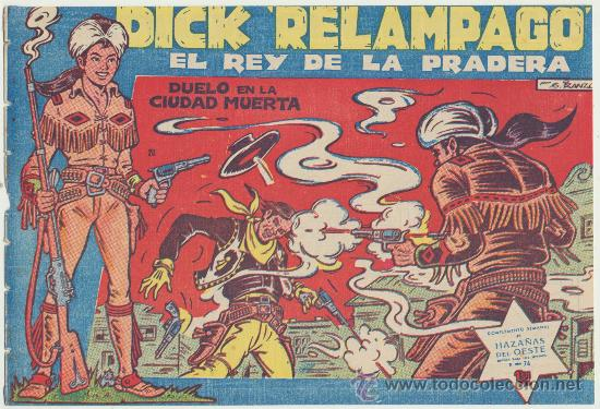 DICK RELÁMPAGO Nº 20. TORAY 1960. (Tebeos y Comics - Toray - Dick Relampago)