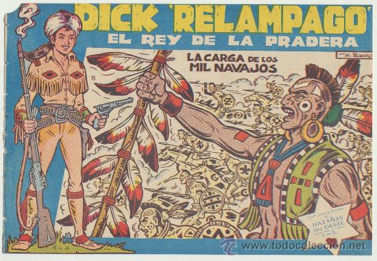 DICK RELÁMPAGO Nº 15. TORAY 1960. (Tebeos y Comics - Toray - Dick Relampago)