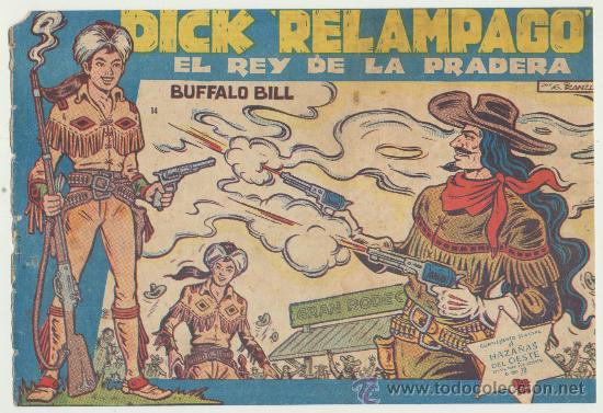 DICK RELÁMPAGO Nº 14. TORAY 1960. (Tebeos y Comics - Toray - Dick Relampago)