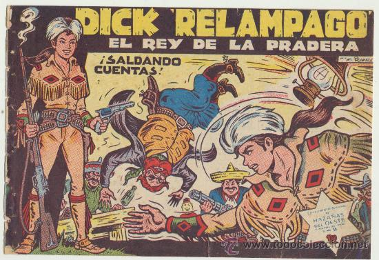 DICK RELÁMPAGO Nº 2. TORAY 1960. (Tebeos y Comics - Toray - Dick Relampago)