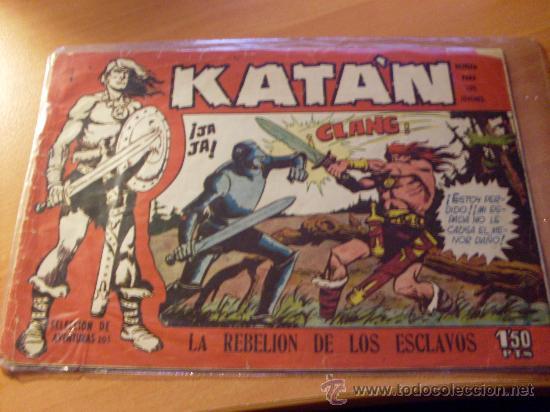 KATAN Nº 2 ( ORIGINAL ED. TORAY ) (S2) (Tebeos y Comics - Toray - Katan)