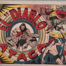 Tebeos: EL DIABLO DE LOS MARES Nº 11. TORAY 1947.. Lote 24138270