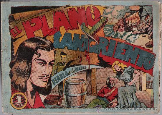 EL DIABLO DE LOS MARES Nº 14. TORAY 1947. (Tebeos y Comics - Toray - Diablo de los Mares)