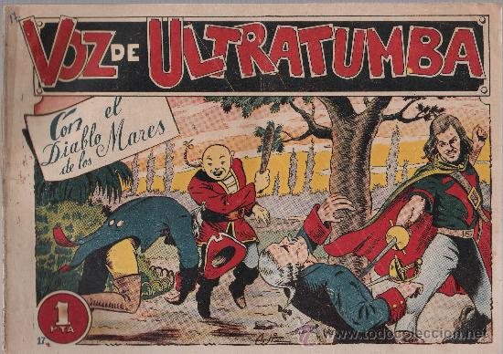 EL DIABLO DE LOS MARES Nº 17. TORAY 1947. (Tebeos y Comics - Toray - Diablo de los Mares)