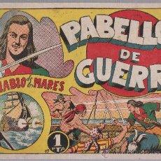 Tebeos: EL DIABLO DE LOS MARES Nº 19. TORAY 1947.. Lote 24138691