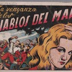 Tebeos: EL DIABLO DE LOS MARES Nº 38. TORAY 1947.. Lote 24138977