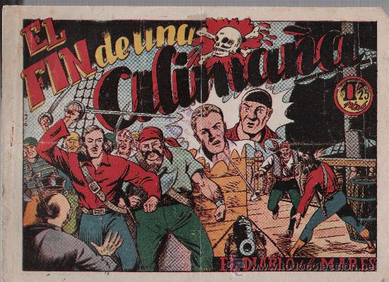 EL DIABLO DE LOS MARES Nº 42. TORAY 1947. (Tebeos y Comics - Toray - Diablo de los Mares)