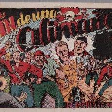Tebeos: EL DIABLO DE LOS MARES Nº 42. TORAY 1947.. Lote 24139058