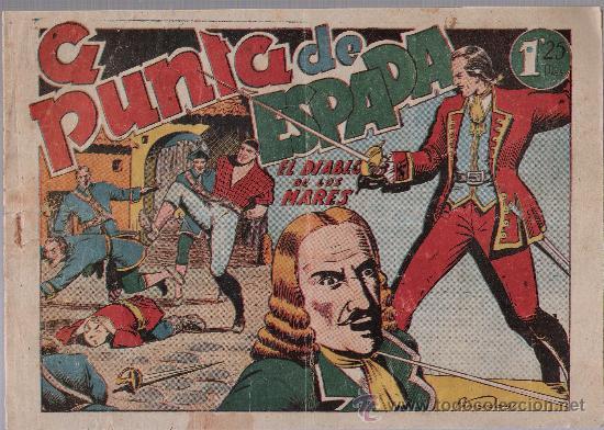 EL DIABLO DE LOS MARES Nº 47. TORAY 1947. (Tebeos y Comics - Toray - Diablo de los Mares)