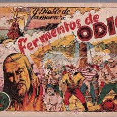 Tebeos: EL DIABLO DE LOS MARES Nº 61. TORAY 1947.. Lote 24139229