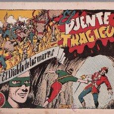Tebeos: EL DIABLO DE LOS MARES Nº 59. TORAY 1947.. Lote 24139301