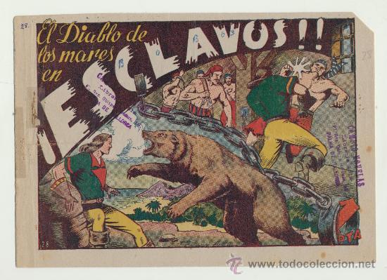 EL DIABLO DE LOS MARES Nº 28. (Tebeos y Comics - Toray - Diablo de los Mares)