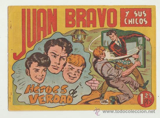 JUAN BRAVO Y SUS CHICOS Nº 3. (Tebeos y Comics - Toray - Diablo de los Mares)