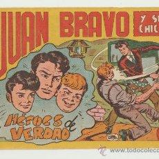 Tebeos: JUAN BRAVO Y SUS CHICOS Nº 3. . Lote 24227899