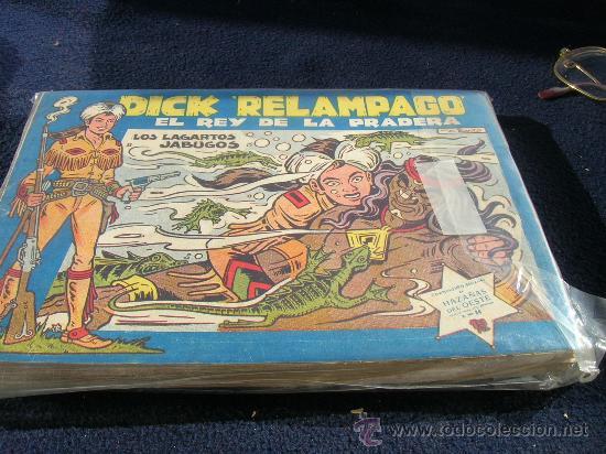 DICK RELAMPAGO DE IRANZO COMPLETA Y SUELTA VER FOTOS (Tebeos y Comics - Toray - Dick Relampago)