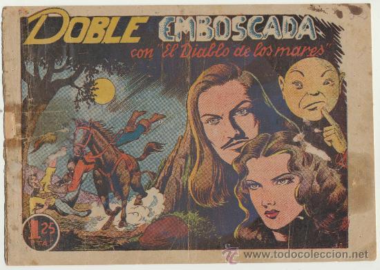 EL DIABLO DE LOS MARES Nº 32. TORAY 1947. (Tebeos y Comics - Toray - Diablo de los Mares)
