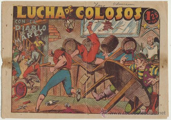 EL DIABLO DE LOS MARES Nº 29. TORAY 1947. (Tebeos y Comics - Toray - Diablo de los Mares)
