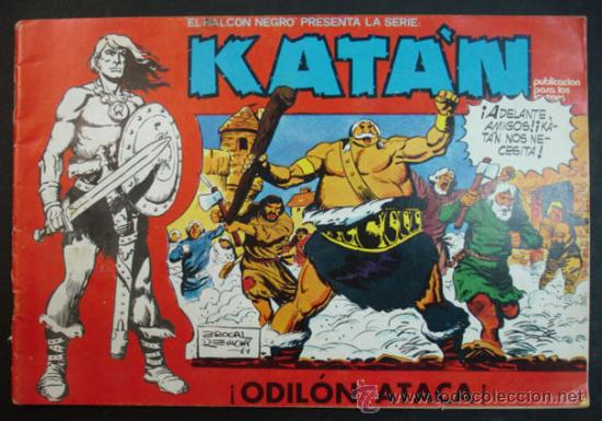 Nº 10. KATAN. ¡ODILÓN ATACA! (URSUS) (Tebeos y Comics - Toray - Katan)