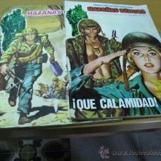 Tebeos: 2 TEBEOS DE HAZAÑAS BELICOS 1973, . Lote 24753072