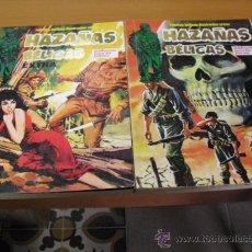 Tebeos: 2 TOMOS DE HAZAÑAS BELICAS RETAPADOS CON 8 Nº-5-6-7-8-9-10-11-12,1979. Lote 24753240